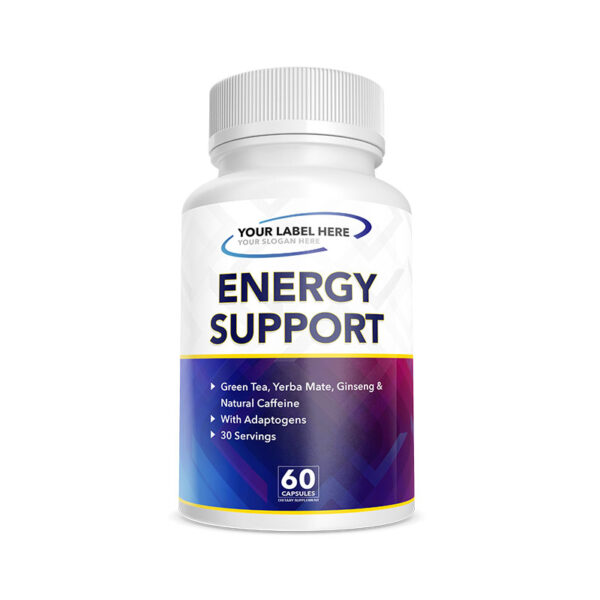 Private Label Energy Support with Adaptogens