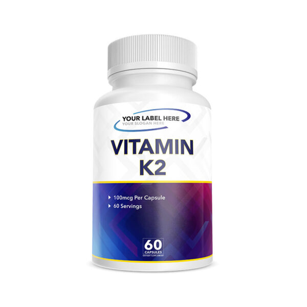 Private Label Vitamin K2 Supplement Manufacturing