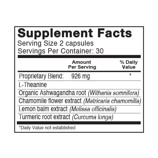 Private Label Joint Support Supplement Facts