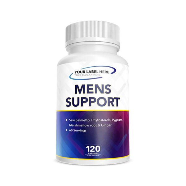 Private Label Mens Support Supplement Manufacturing