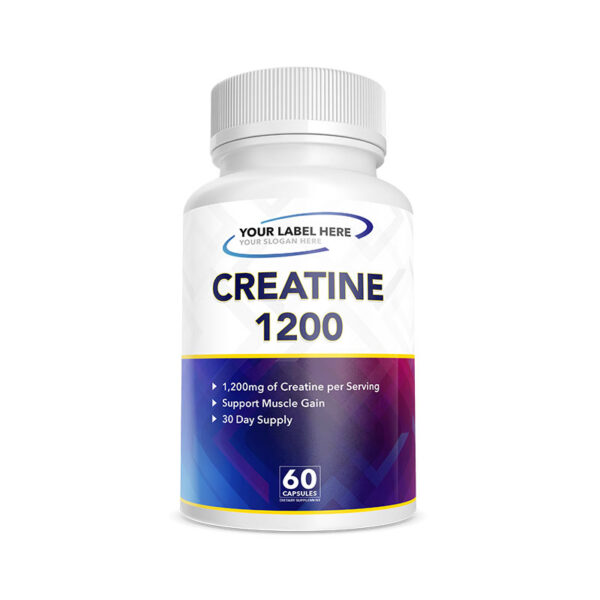Private Label Creatine 1200mg