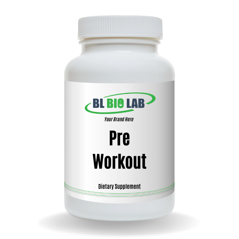 Private Label Pre Workout Supplement Manufacturing
