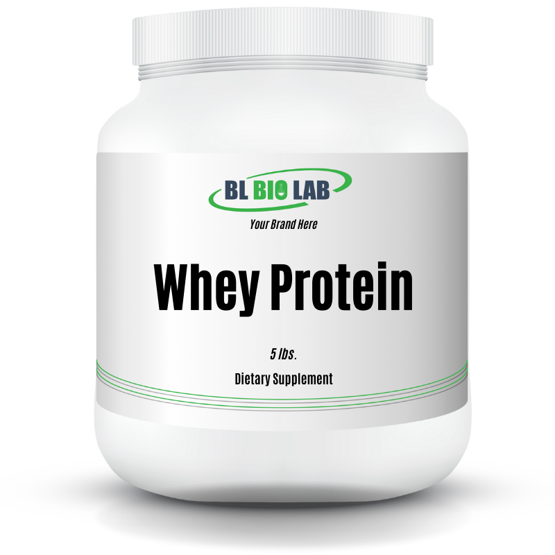 Private Label Whey Protein Supplement Manufacturing