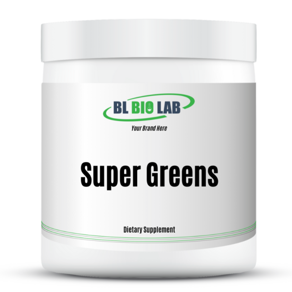 Private Label Super Greens Powder Manufacturing