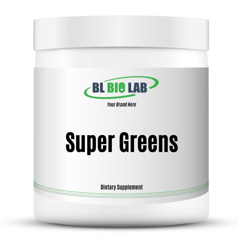 Private Label Super Greens Powder Manufacturing