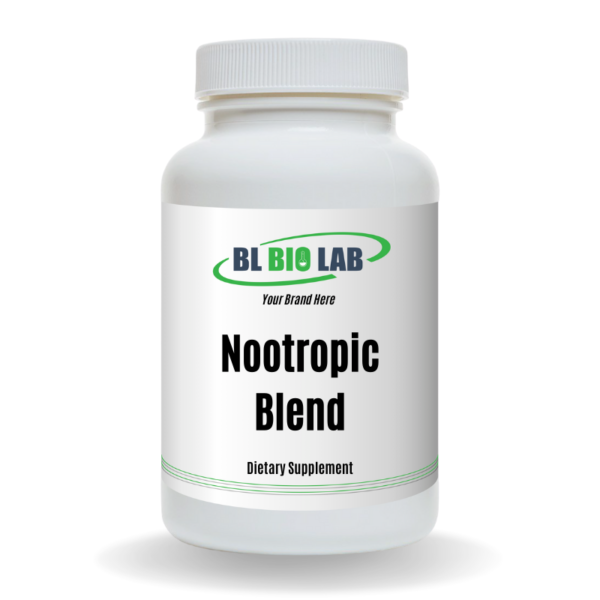 Private Label Nootropic Blend Supplement Manufacturing