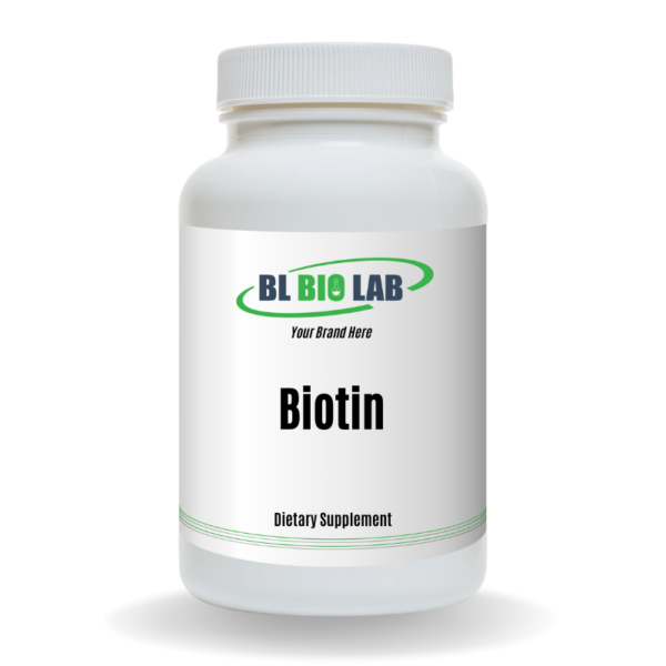 Private Label Biotin Supplement Manufacturing