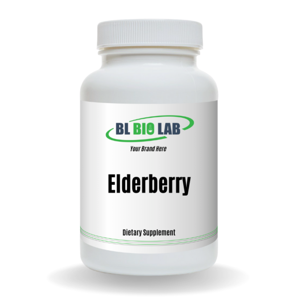 Private Label Elderberry Supplement Manufacturing