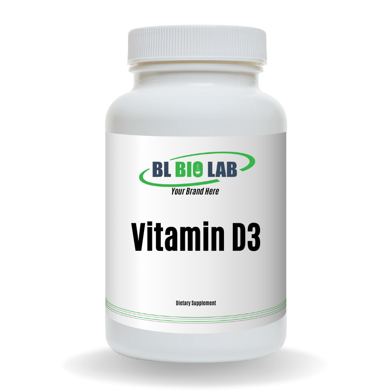 Private Label Vitamin D3 Supplement Manufacturing