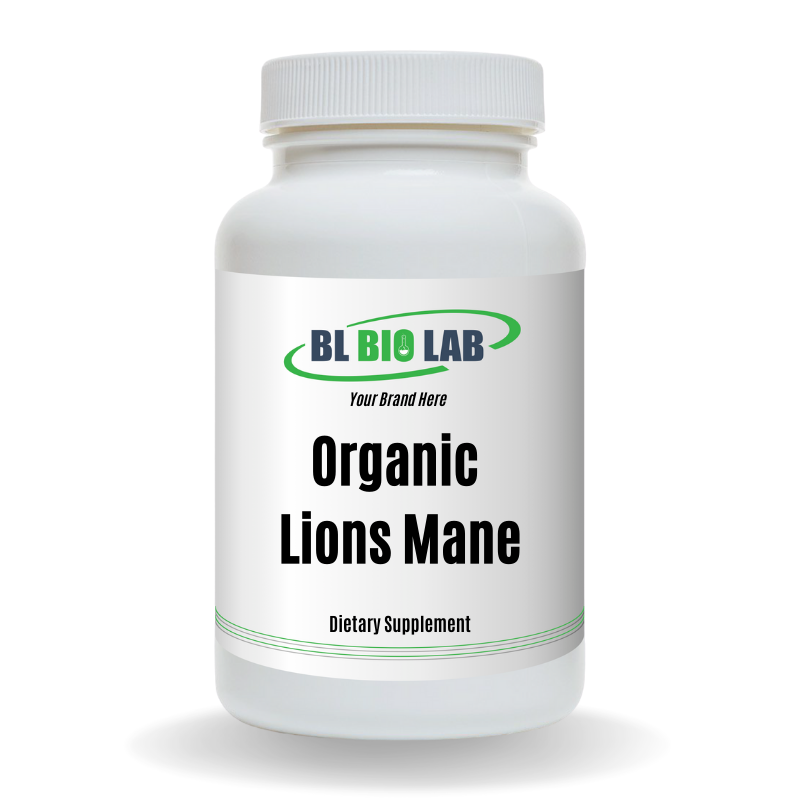 Private Label Organic Lions Mane Supplement Manufacturing