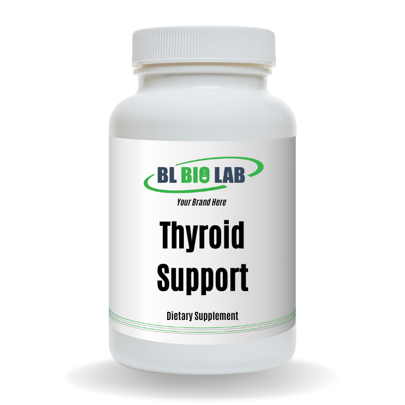 Private Label Thyroid Support Supplement Manufacturing