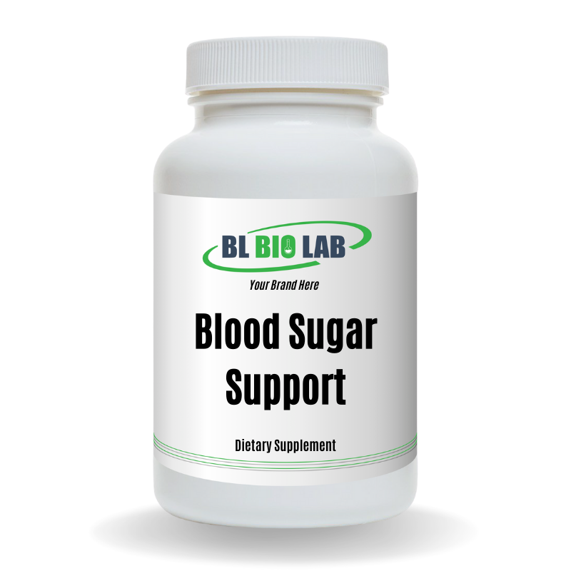Private Label Blood Sugar Support Supplement Manufacturing