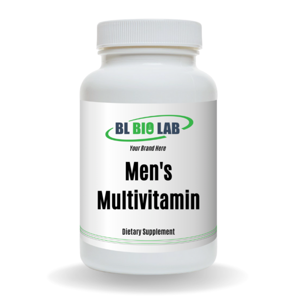 Private Label Men's Multivitamin Supplement Manufacturing