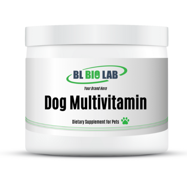 Private Label Dog Multivitamin Supplement Manufacturing