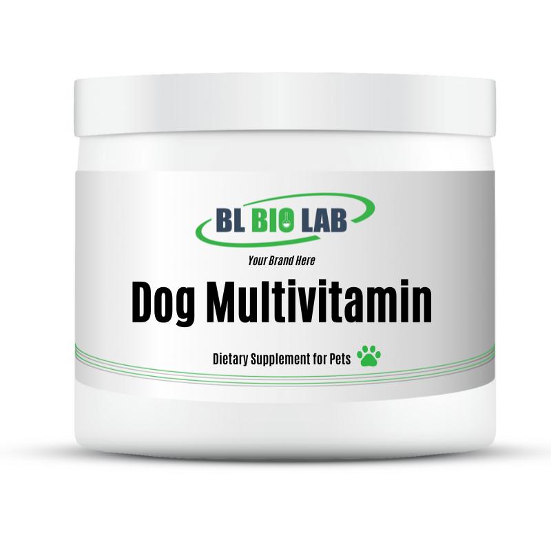 Private Label Dog Multivitamin Supplement Manufacturing