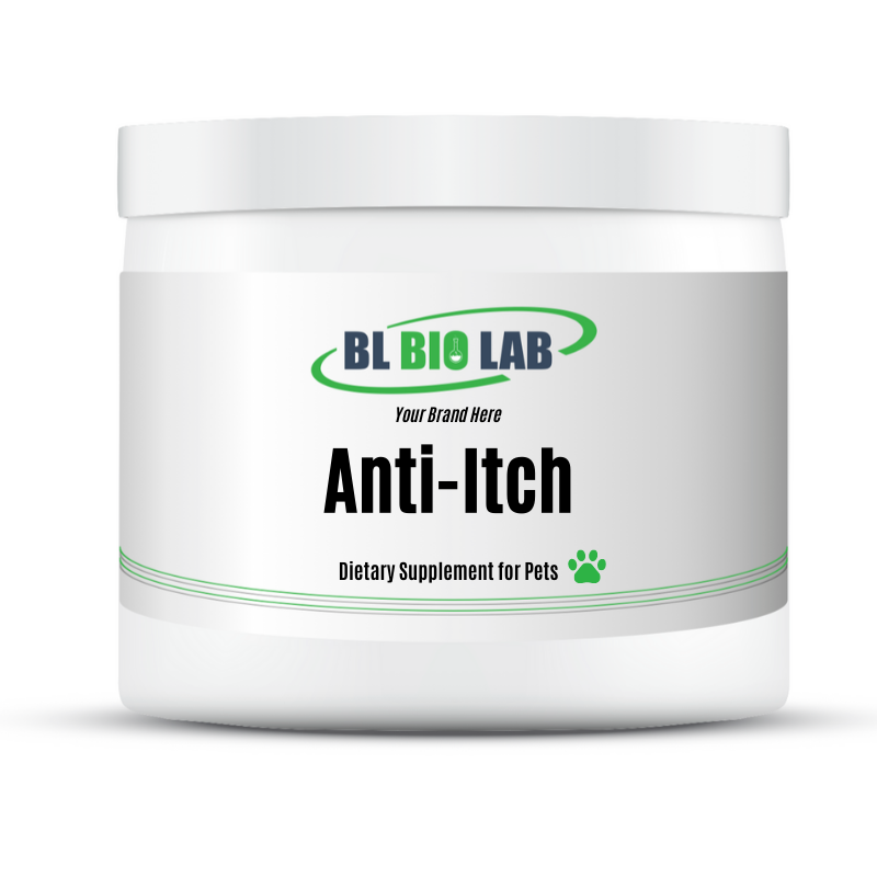 Private Label Pet Anti-Itch Supplement Manufacturing