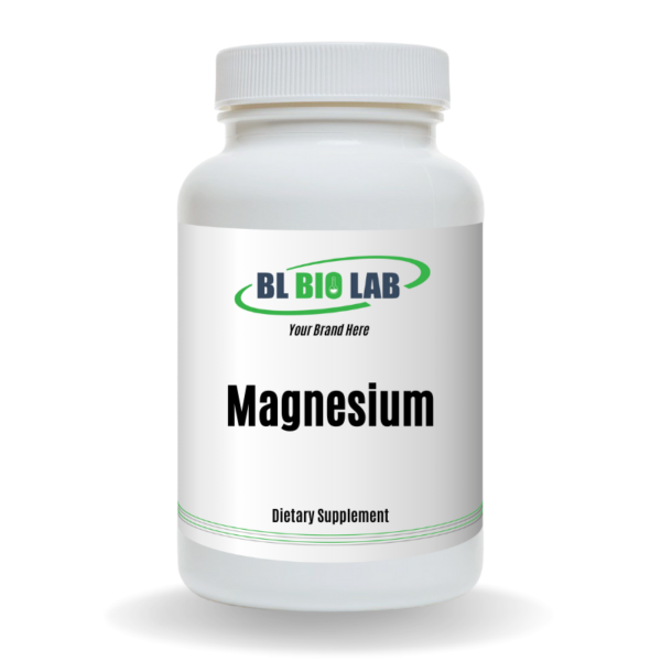 Private Label Magnesium Supplement Manufacturing