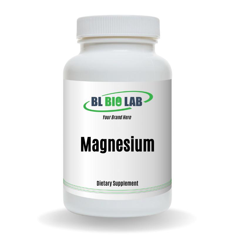 Private Label Magnesium Supplement Manufacturing