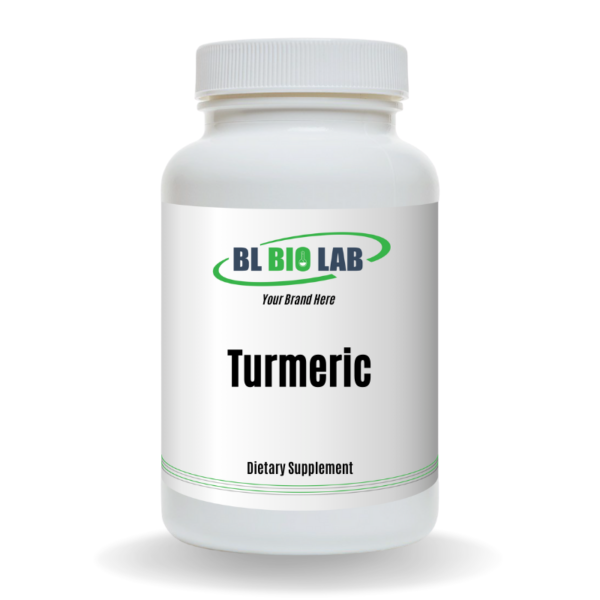 Private Label Turmeric Supplement Manufacturing
