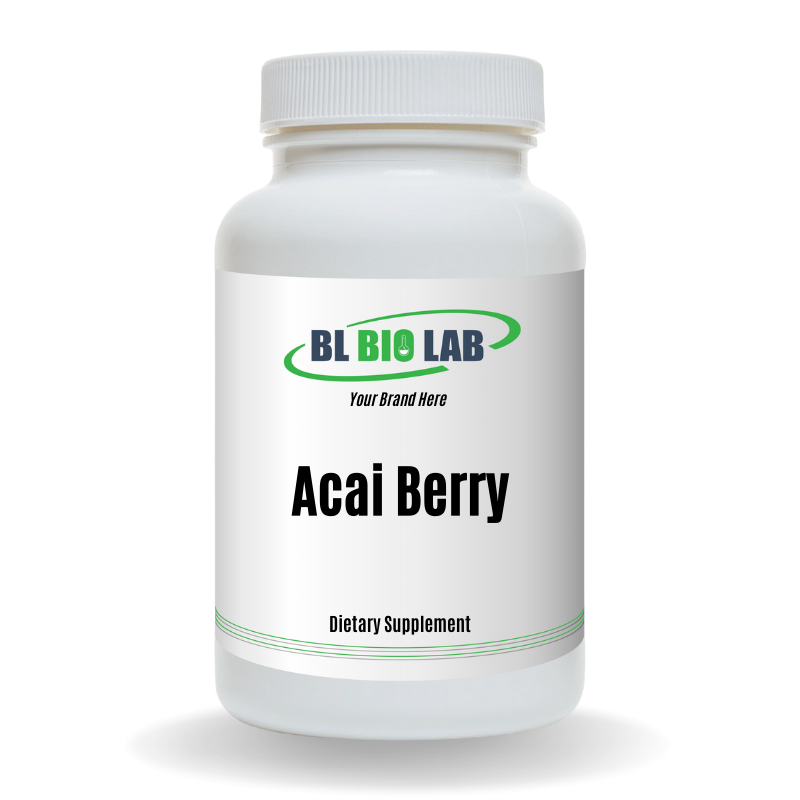 Private Label Acai Berry Supplement Manufacturing