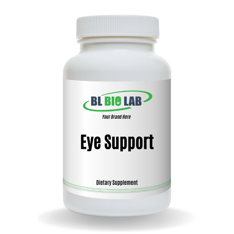 Private Label Eye Support Supplement Manufacturing