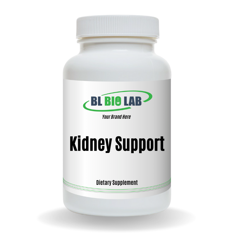 Private Label Kidney Support Supplement Manufacturing