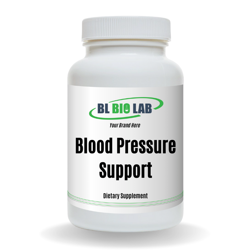 Private Label Blood Pressure Support Supplement Manufacturing