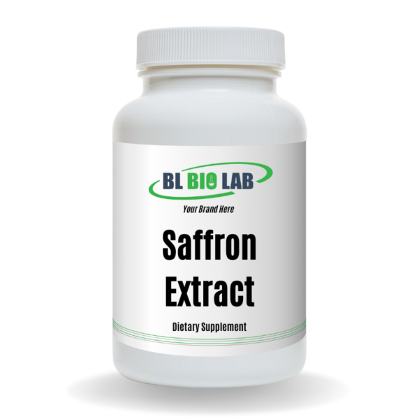 Private Label Saffron Extract Supplement Manufacturing