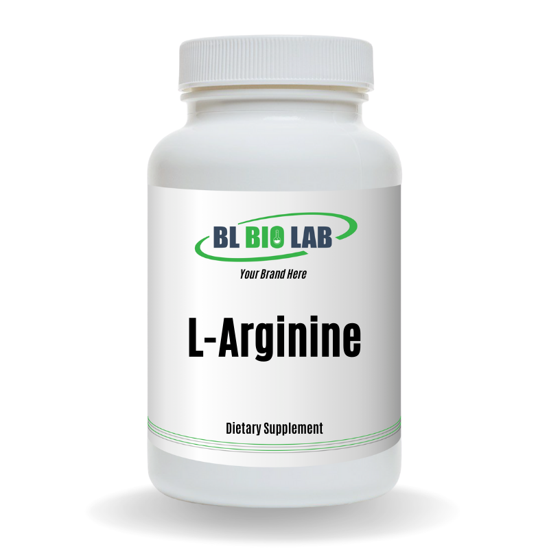 Private Label L-Arginine Supplement Manufacturing