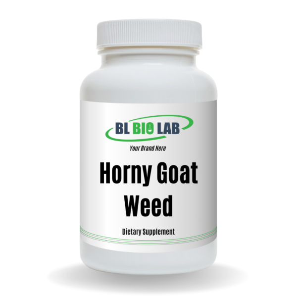 Private Label Horny Goat Weed Supplement Manufacturing