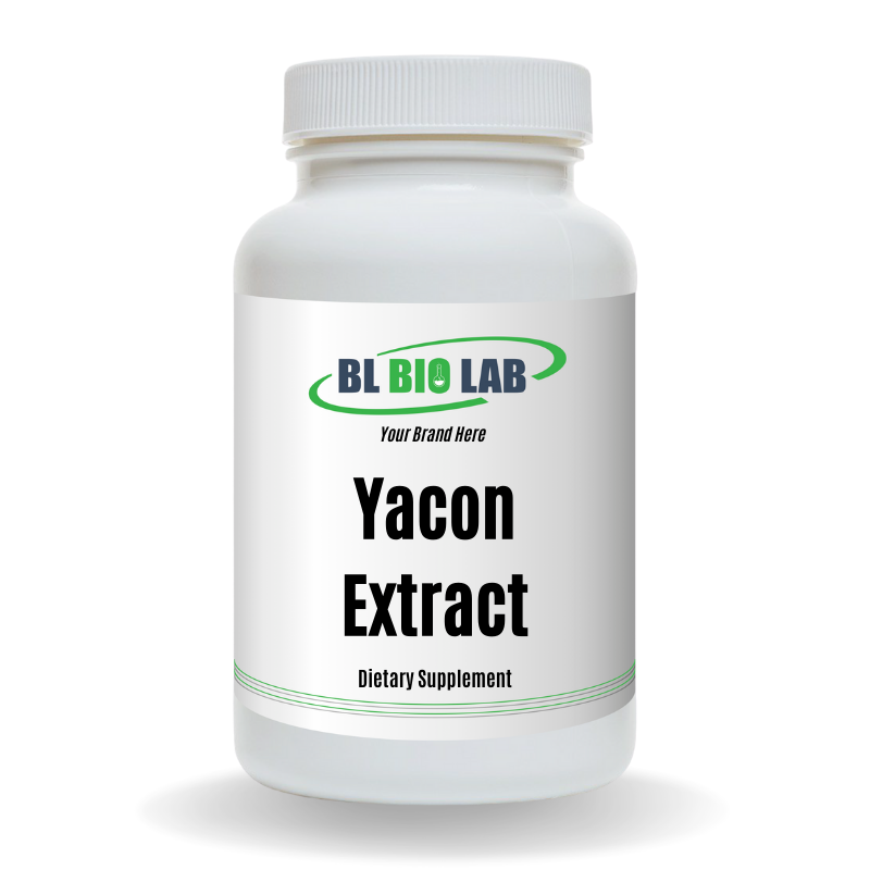 Private Label Yacon Supplement Manufacturing
