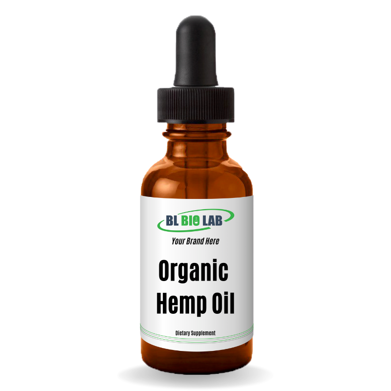 Private Label Organic Hemp Oil Supplement Manufacturing