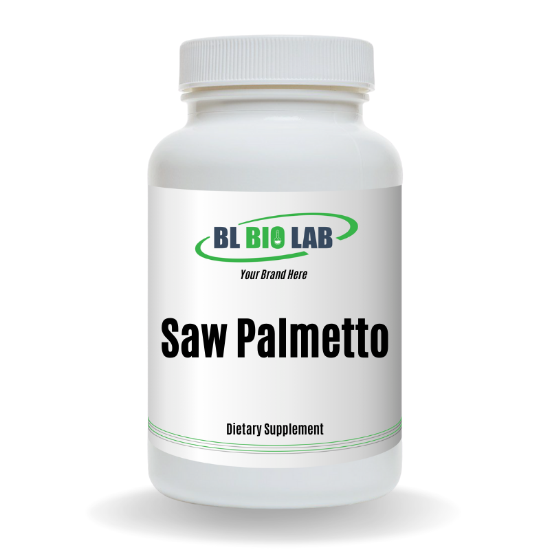 Private Label Saw Palmetto Supplement Manufacturing