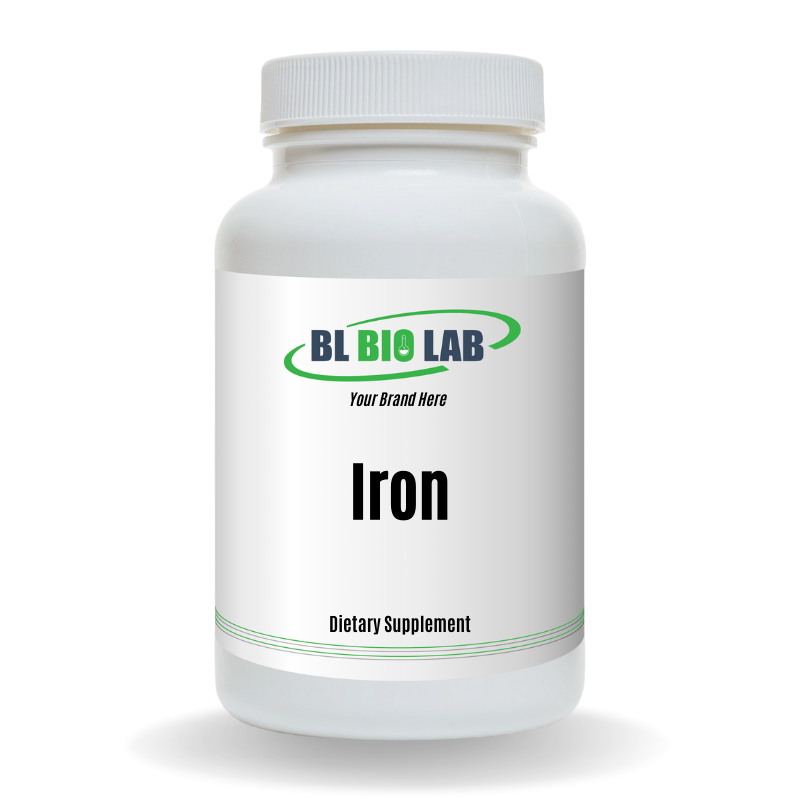 Private Label Iron Supplement Manufacturing