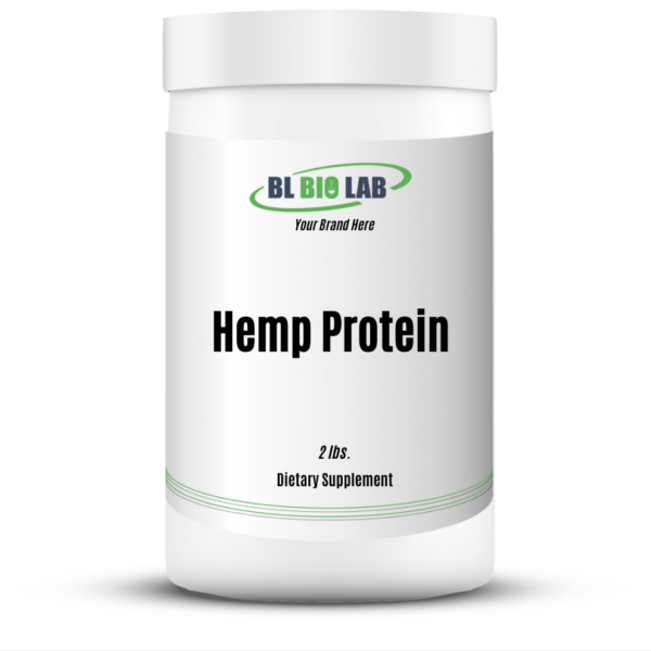 Private Label Hemp Protein Supplement Manufacturing