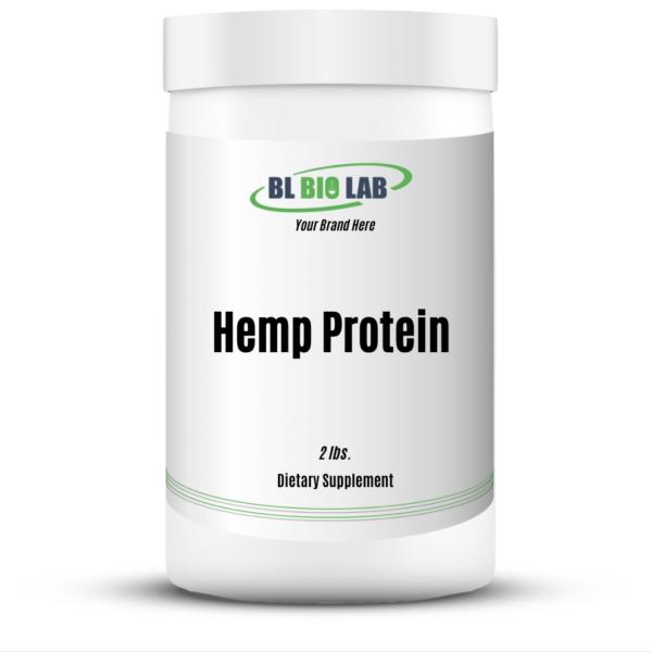 Private Label Hemp Protein Supplement Manufacturing