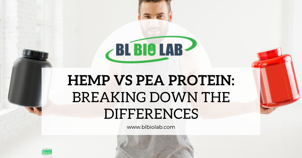Hemp vs Pea Protein: Breaking Down the Differences