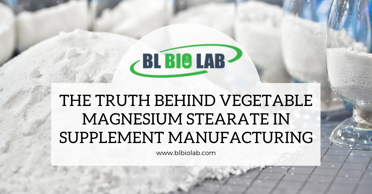 The Truth Behind Vegetable Magnesium Stearate in Supplement Manufacturing