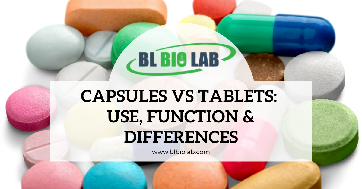 Capsules vs Tablets: Use, Function & Differences