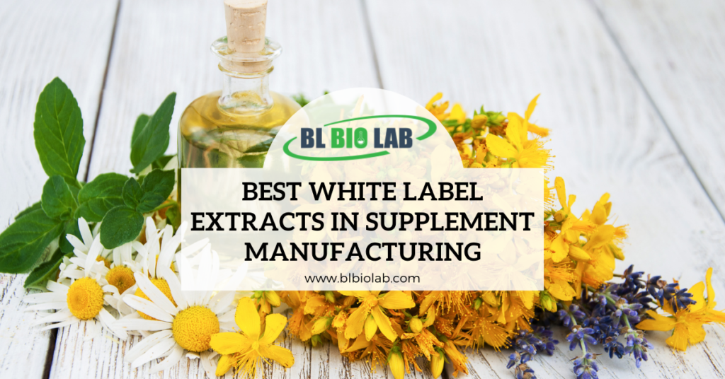 Best White Label Extracts in Supplement Manufacturing
