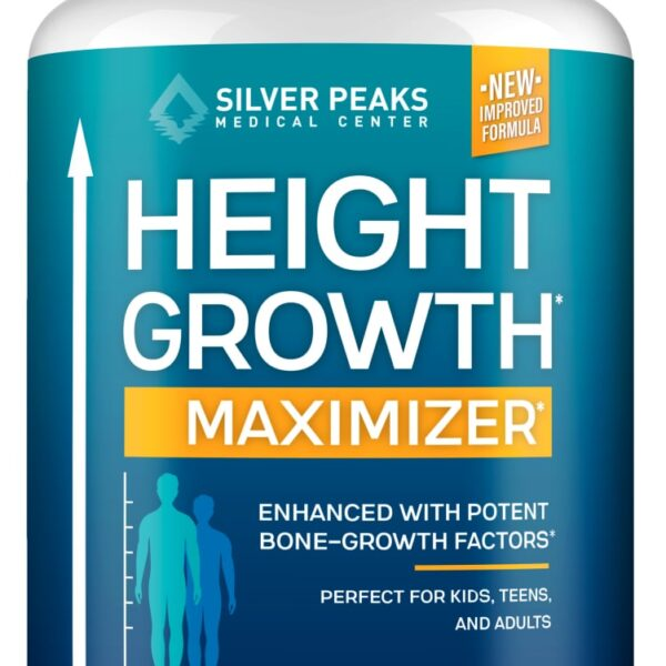 SILVERPEAKS Height Growth Maximizer Supplement, 60 capsules