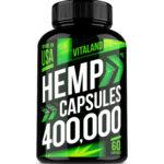 Vitaland Hemp Oil Dietary Supplement, 60 Capsules