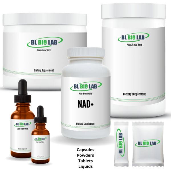 Private Label NAD Supplement Manufacturing