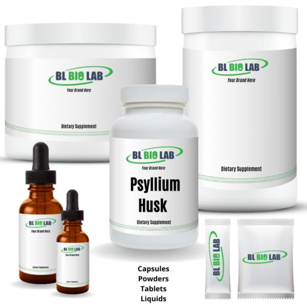 Private Label Psyllium Husk Supplement Manufacturing